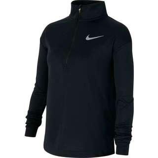 Nike Layerlangarmshirt Kinder black-reflective silv