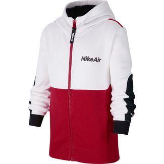 Nike Air Kapuzenjacke Kinder white-university red-black-black