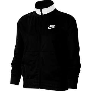 Nike NSW Heritage Polyjacke Damen black-white