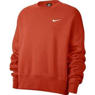 Nike NSW Sweatshirt Damen mantra orange-white