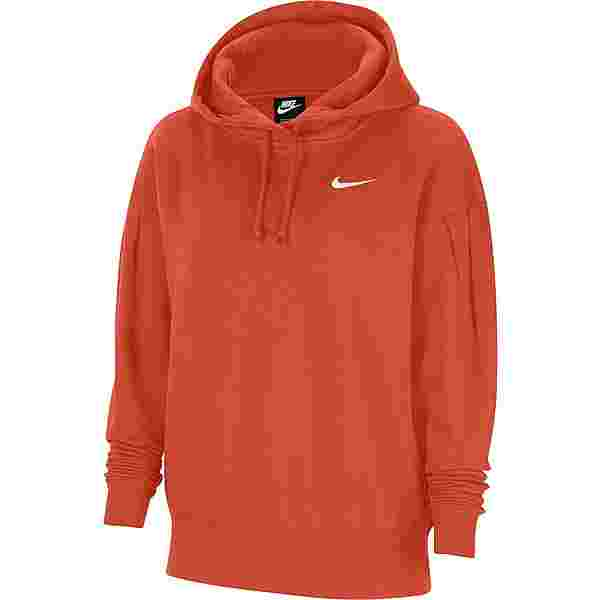 Nike NSW Sweatshirt Damen mantra orange-white