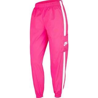 Nike NSW Nylonhose Damen hyper pink-white-white