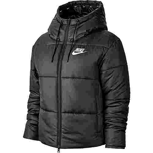 Nike NSW Steppjacke Damen black-white