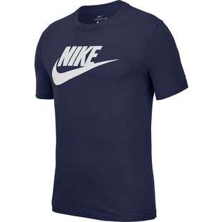 Nike Futura NSW T-Shirt Herren midnight navy-white