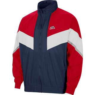 Nike NSW Windrunner Nylonjacke Herren midnight navy/university red/white
