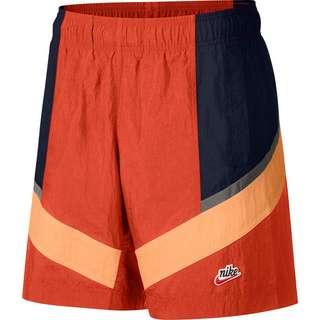 Nike NSW Windrunner Shorts Herren mantra orange/obsidian/orange frost