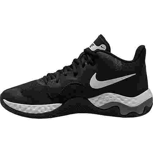 Nike Renew Elevate Basketballschuhe Herren black-white-smoke grey