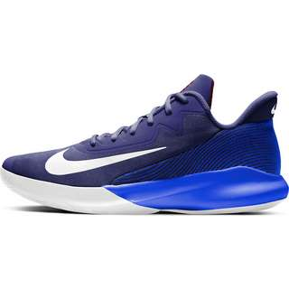 Nike Precision IV Basketballschuhe Herren blue void-white-racer blue-red crush