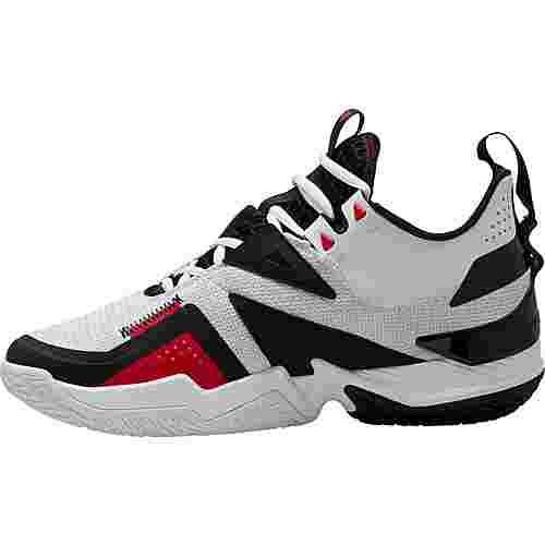 Nike Jordan Westbrook One Take Basketballschuhe Herren white-black-university red