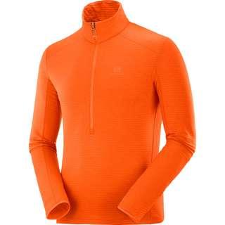 Salomon OUTLINE Fleeceshirt Herren red orange