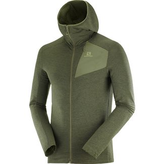 Salomon OUTLINE Fleecejacke Herren olive night