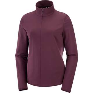 Salomon OUTRACK Fleeceshirt Damen winetasting