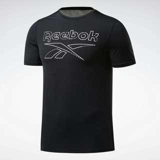 Reebok Workout Ready ACTIVCHILL T-Shirt Funktionsshirt Herren Schwarz