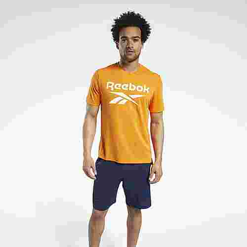 Reebok Workout Ready Supremium Graphic T-Shirt Funktionsshirt Herren Orange