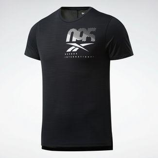 Reebok ACTIVCHILL Graphic Move T-Shirt Funktionsshirt Herren Schwarz