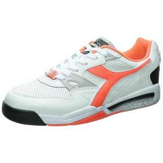 Diadora Rebound Ace Sneaker Herren weiß / neonrot