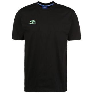 UMBRO Classico 2 Crew T-Shirt Herren schwarz / türkis