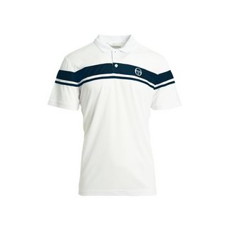 SERGIO TACCHINI Young Line Pro Polo Poloshirt Herren wht/nav