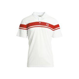 SERGIO TACCHINI Young Line Pro Polo Poloshirt Herren wht/red