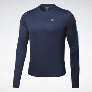 Reebok Running Essentials Long-Sleeve Shirt Laufshirt Herren Blau