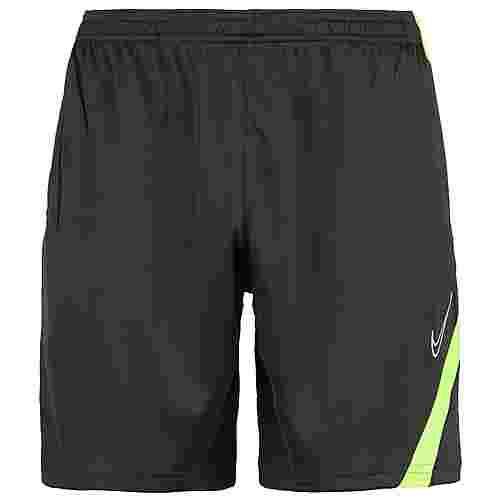 Nike Dry Academy Pro Fußballshorts Herren anthrazit / neongelb