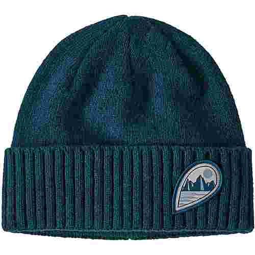 Patagonia Brodeo Beanie tube view: crater blue