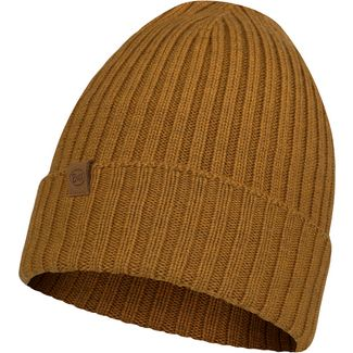 BUFF Merino Knitted Beanie norval mustard