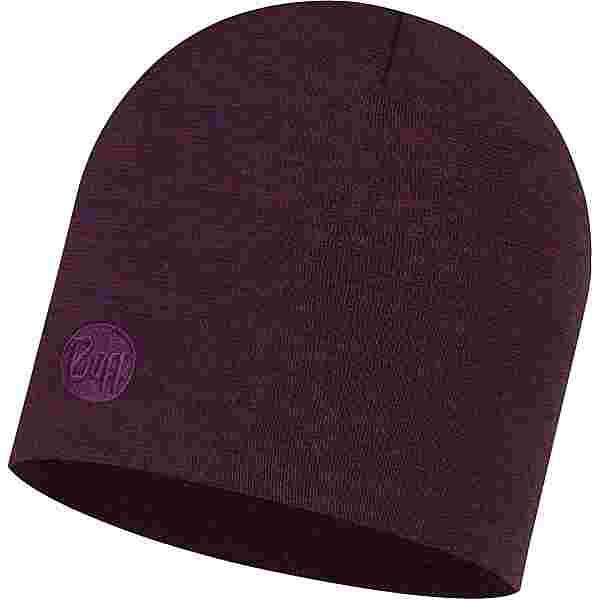 BUFF Merino Heavyweight Beanie purplish multi stripes