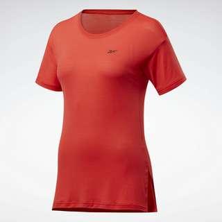 Reebok Workout Ready ACTIVCHILL T-Shirt Funktionsshirt Damen Rot