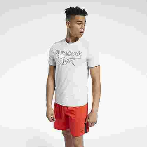 Reebok Workout Ready ACTIVCHILL T-Shirt Funktionsshirt Herren Weiß