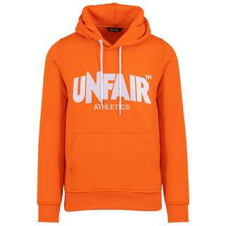 Unfair Athletics Unfair Classic Label Hoodie Herren orange / weiß