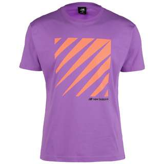 NEW BALANCE Sport Style Optiks T-Shirt Herren lila