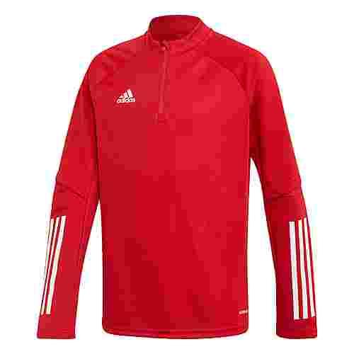 adidas Condivo 20 Trainingsoberteil Sweatjacke Kinder Rot