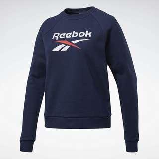 Reebok Classics Big Vector Crew Sweatshirt Funktionssweatshirt Damen Blau