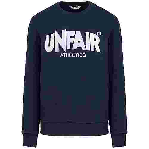 Unfair Athletics Unfair Classic Label Crewneck Sweatshirt Herren dunkelblau / weiß