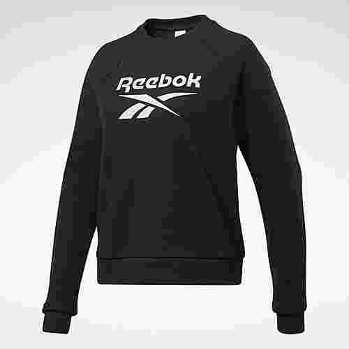 Reebok Classics Big Vector Crew Sweatshirt Funktionssweatshirt Damen Schwarz