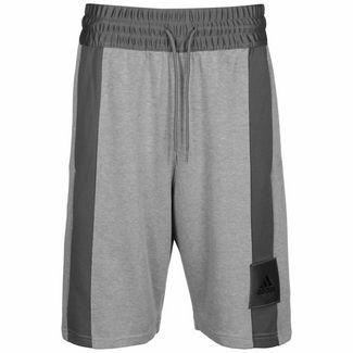 adidas Cross-Up 365 Basketball-Shorts Herren grau / anthrazit