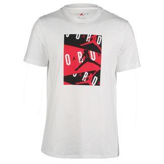 Nike Jordan Basketball Shirt Herren weiß / rot