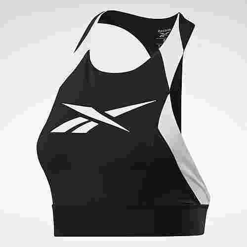 Reebok Workout Ready Low-Impact Bralette BH Damen Schwarz