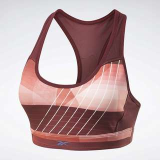 Reebok Run Lux Medium-Impact Racer Bra BH Damen Rot