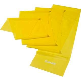 ALEX leicht Gymnastikband gelb
