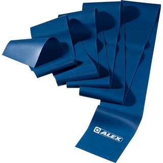 ALEX extra stark Gymnastikband blau