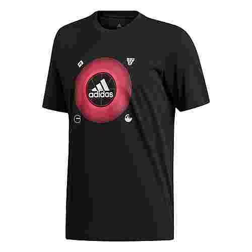 adidas Badge of Sport Icons T-Shirt T-Shirt Herren Schwarz
