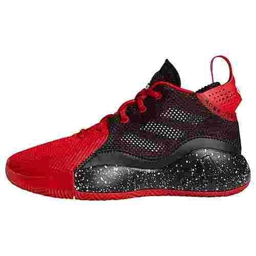 adidas D Rose 773 2020 Schuh Basketballschuhe Kinder Scarlet / Core Black / Cloud White