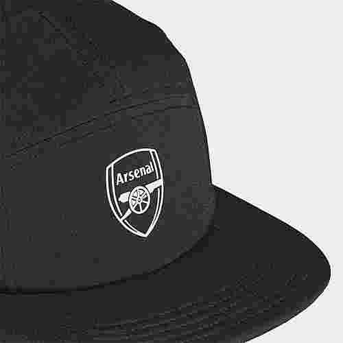adidas FC Arsenal Five-Panel Kappe Cap Herren Black / White