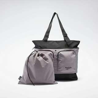 Reebok Rucksack Training Supply Pinnacle Bag Daypack Damen Black / Gravity Grey