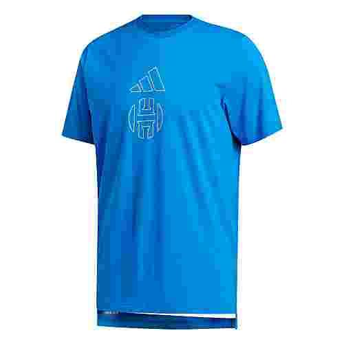 adidas Harden Individuality Logo T-Shirt T-Shirt Herren Blau