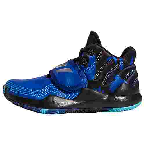 adidas Deep Threat Schuh Basketballschuhe Kinder Royal Blue / Core Black / Collegiate Navy