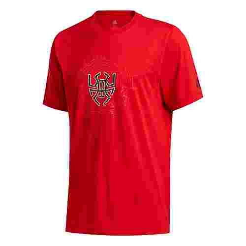 adidas D.O.N. Issue #2 Sense Logo T-Shirt T-Shirt Herren Rot