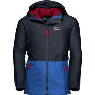 Jack Wolfskin Snowy Days Outdoorjacke Kinder night blue